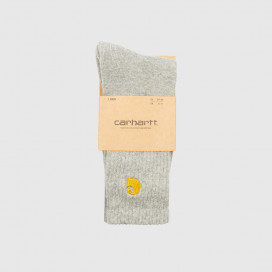 Носки Carhartt WIP Chase Socks  Grey Heather / Gold