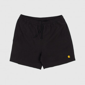 Шорты Carhartt WIP Chase Swim Trunk Black / Gold