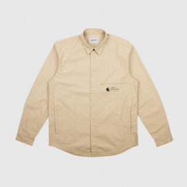 Рубашка Carhartt WIP L/S Coleman Shirt Wall / Black