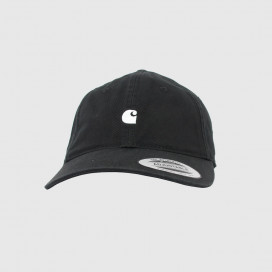 Кепка Carhartt WIP Madison Logo Cap Black / White
