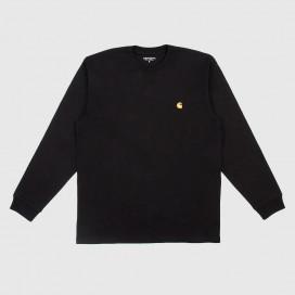 Лонгслив Carhartt WIP L/S Chase T-Shirt Black/Gold