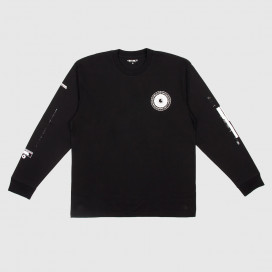 Лонгслив Carhartt WIP L/S Confidential T-Shirt Black/White