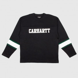 Лонгслив Carhartt WIP L/S Thorpe College T-Shirt Black