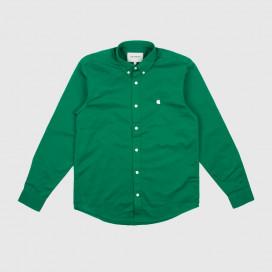 Рубашка Carhartt WIP L/S Madison Shirt Dragon/Wax