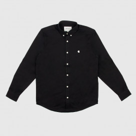 Рубашка Carhartt WIP L/S Madison Shirt Black/Wax