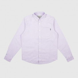 Рубашка Carhartt WIP L/S Button Down Pocket Shirt Soft Lavender