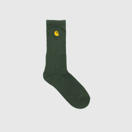 Носки Carhartt WIP Chase Socks Bottle Green / Gold