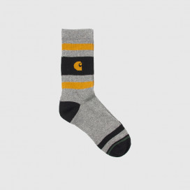 Носки Carhartt WIP Fairfield Socks Dark Grey Heather
