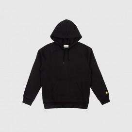 Толстовка с капюшоном Carhartt WIP Hooded Chase Sweatshirt Black / Gold