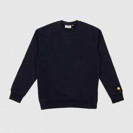 Толстовка Carhartt WIP Chase Sweatshirt Dark Navy / Gold