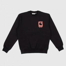 Толстовка Carhartt WIP Body and Paint Sweatshirt Black / Red