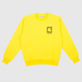 Толстовка Carhartt WIP Body and Paint Sweatshirt Primula / Black