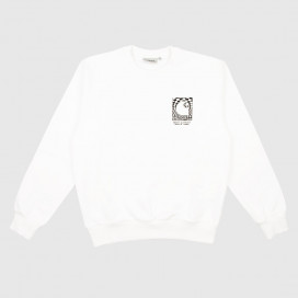 Толстовка Carhartt WIP Body and Paint Sweatshirt White / Black