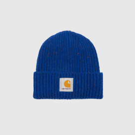 Шапка Carhartt WIP Anglistic Beanie Thunder Blue Heather