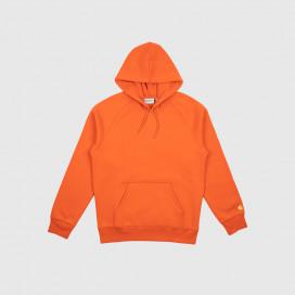 Толстовка с капюшоном Carhartt WIP Hooded Chase Sweatshirt Brick Orange / Gold