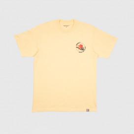 Футболка Carhartt WIP S/S Hotline T-Shirt Pale Yellow