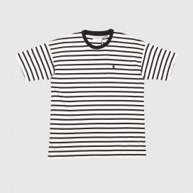Футболка Женская Carhartt WIP W' S/S Robie Robie Stripe/Wax Black