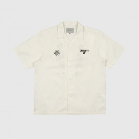Рубашка Carhartt WIP S\S Cartograph Shirt Wax