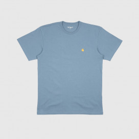 Футболка Carhartt WIP S/S Chase T-Shirt Mossa/ Gold