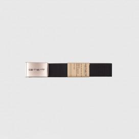 Ремень Carhartt WIP Clip Belt Chrome Black