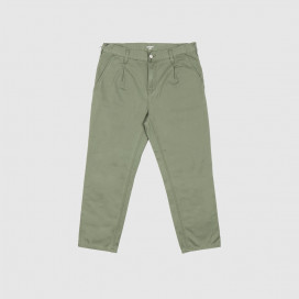 Штаны Carhartt WIP Abbott Pant Dollar green (stone washed)