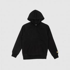 Толстовка с капюшоном Carhartt WIP Hooded Chase Sweatshirt Black/Gold