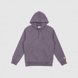 Толстовка с капюшоном Carhartt WIP Hooded Chase Sweatshirt Provence / Gold