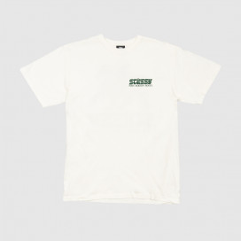 Футболка Stussy Post Modern Roots Pig Dyed Tee Natural