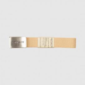 Ремень Carhartt WIP Clip Belt Chrome Dusty H Brown