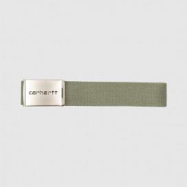 Ремень Carhartt WIP Clip Belt Chrome Dollar Green