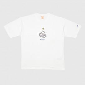 Футболка Champion T T-Shirt 216428 WW WHT