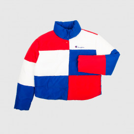 Куртка женская Champion Jacket 112347 BS008 BAI/RED/WHT