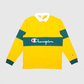 Лонгслив Champion Long Sleeve Polo T-Shirt OLD/TEL