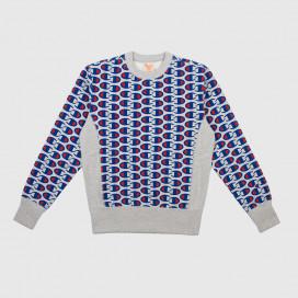 Толстовка Champion Crewneck Sweatshirt NNY/ALLOVER