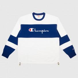 Толстовка Champion Champion Crewneck Sweatshirt WHT/DSB