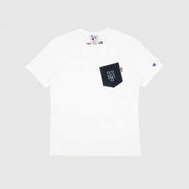 Футболка Champion 214626 Crewneck T-Shirt WW001 WHT