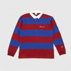 Лонгслив Champion Long Sleeve Polo T-Shirt 213661 RS517 RDD/BKK