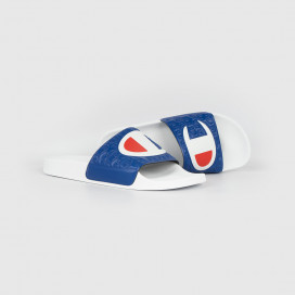 Шлепанцы Champion S20979 Slide M-EVO WW001 WHT/RBL