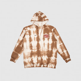 Толстовка с капюшоном Chinatown Market Pop Rocket Tie Dye Hoodie Brown