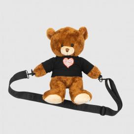 Сумка Chinatown Market Teddy Bear Side Bag Brown