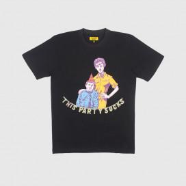 Футболка Chinatown Market Party T-Shirt Black