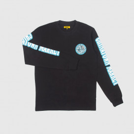Лонгслив Chinatown Market Globe Long Sleeve Black