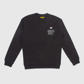 Толстовка Chinatown Market Ufo Sweatshirt Black