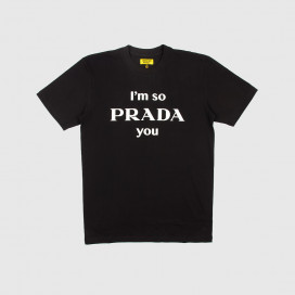 Футболка Chinatown Market Vintage Prada You T-Shirt Black