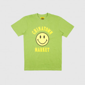 Футболка Chinatown Market Smiley T-Shirt Olive