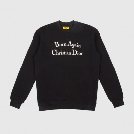 Толстовка Chinatown Market BORN AGAIN CREWNECK Black