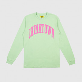 Лонгслив Chinatown Market ARC LONG SLEEVE Green