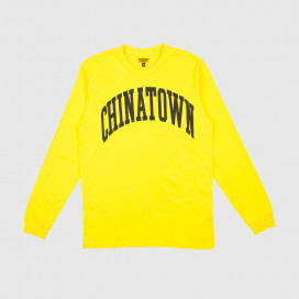 Лонгслив Chinatown Market ARC LONG SLEEVE Yellow