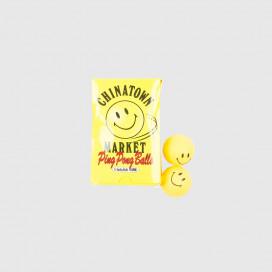 Мячи для пинг-понга Chinatown Market PING PONG BALLS SMILEY
