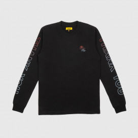 Лонгслив Chinatown Market Thank You Long Sleeve Black